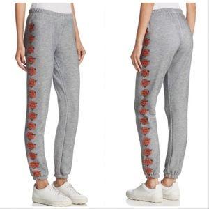 Wildfox Knox Rise Graphic Sweatpants Size Medium